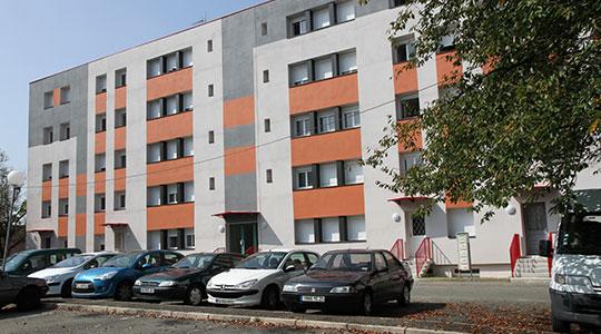 Hotel Rue De Lhotel De Ville A Sochaux